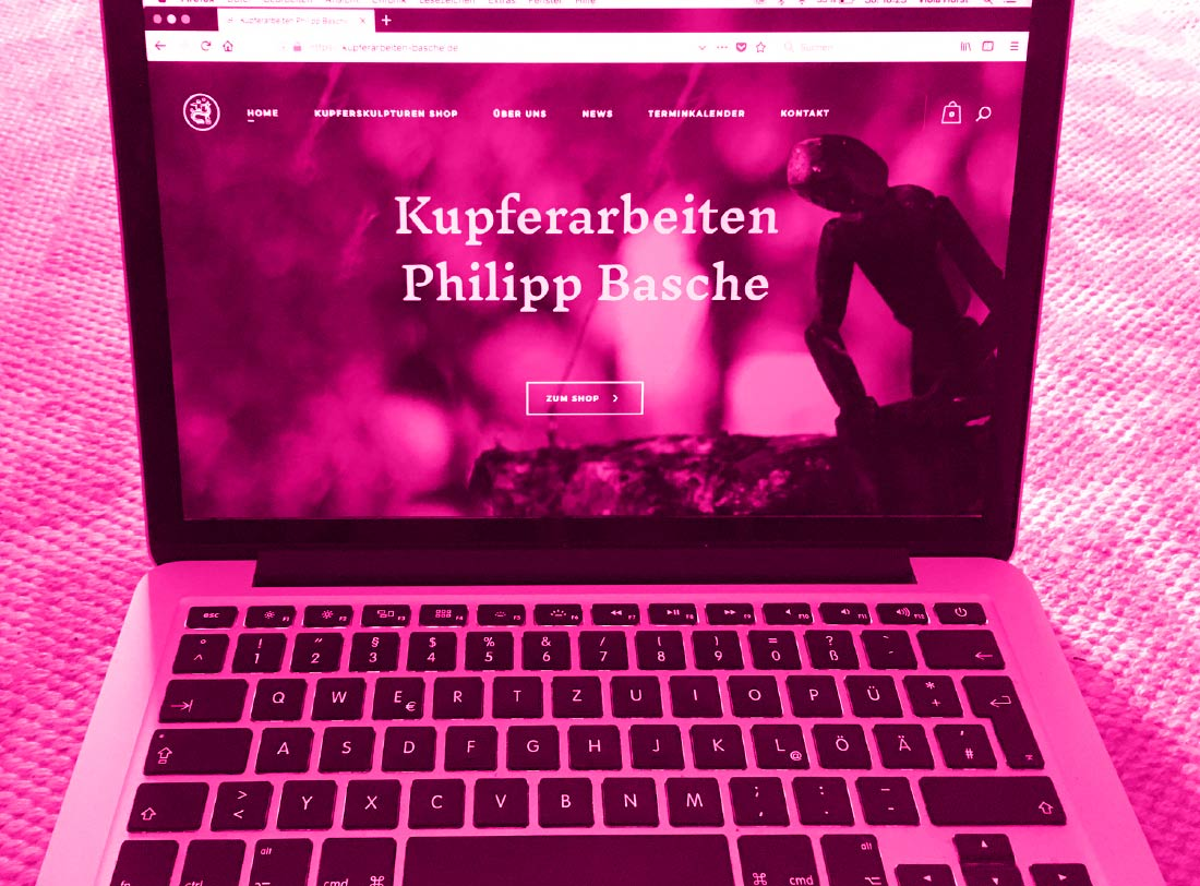 Kupfershop Website