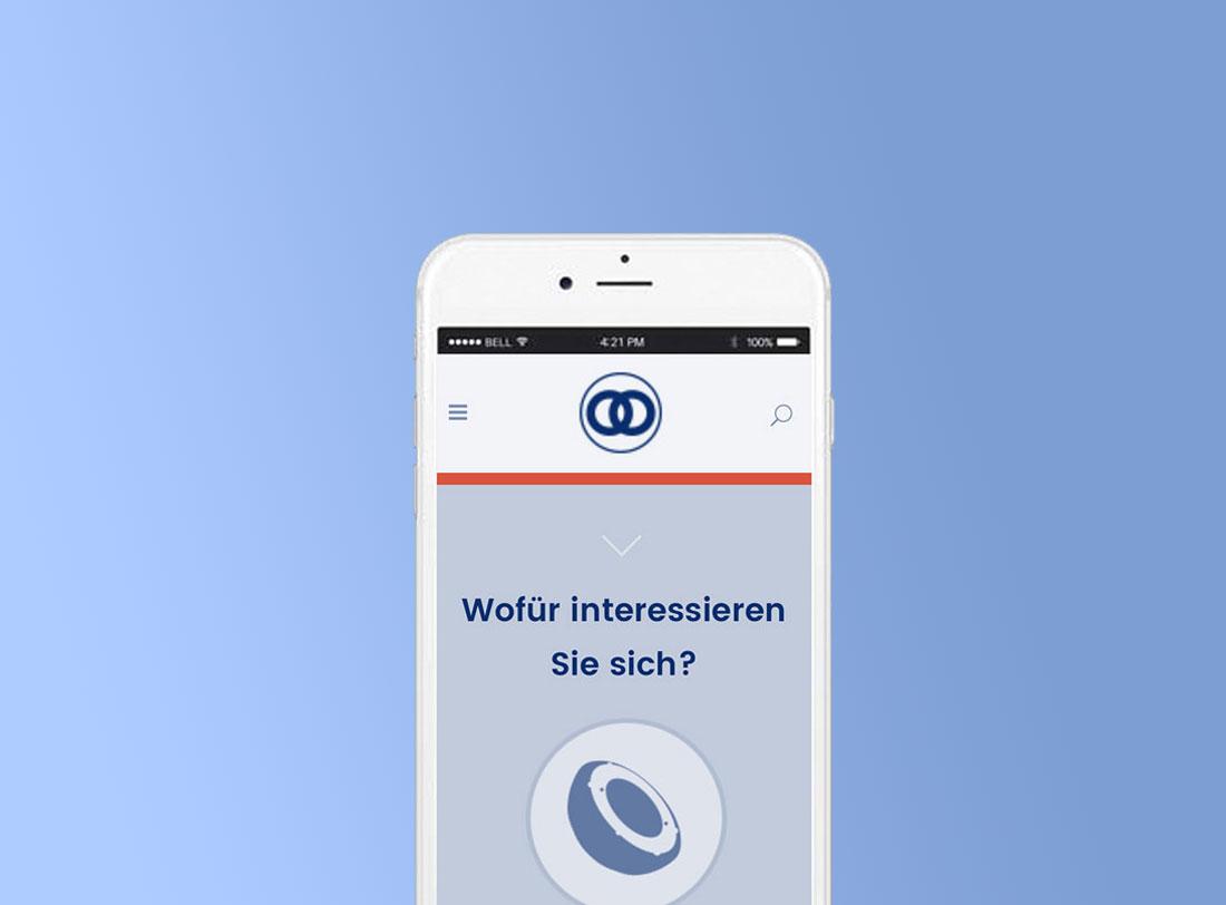 Merete Website Mobile